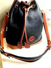 Dooney And Bourke All-Weather Leather Handbag Drawstring Women's Shoulder Bag