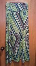 New Directions sz S Multi- color maxi/long skirt no split MODEST