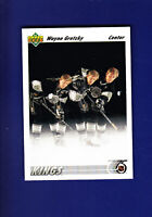 Wayne Gretzky HOF 1991-92 Upper Deck UD Hockey #437 (MINT) Los Angeles Kings