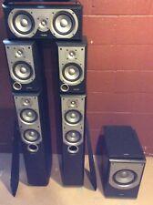 Infinity Primus 150 5.1 Speaker Set Tower Bookshelf Center Sub Subwoofer