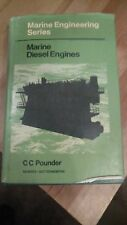 Marine Diesel Engines by Cch Pounder (1972, Hardcover)