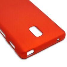 Orange Case For LG Optimus F7 US780 Hard Rubberized Snap On Phone Cover