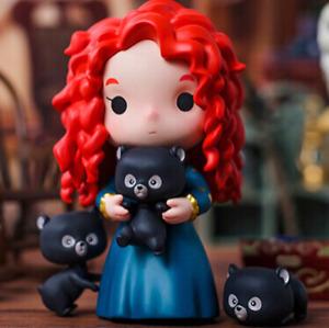 POP MART Disney Princess-Fairy Tale Friendship Merida Mini Figure Art Toy Gift