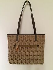 Michael Kors Montauk Mocha (Brown) Signature Medium Tote NWT $168
