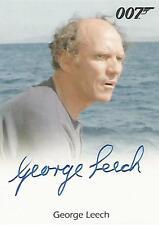 "James Bond 50th Anniversary - George Leech ""Kristatos' Henchman"" Autograph Card"