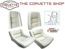 "C3 Corvette Seat Foam Set 1978-1982 with 2"" Bolster - Back and Bottom Pair 7214"