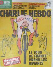CHARLIE HEBDO N° 1406 de JUILLET 2019 TOUR DE FRANCE et RÉCHAUFFEMENT CLIMATIQUE
