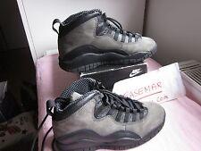 RARE 1994 Nike air Jordan 10 X shadow 130209-001 sz7us OG DS LEBRON ATMOS