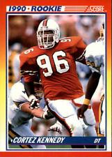 1990 Score #299 CORTEZ KENNEDY RC ROOKIE Seattle Seahawks