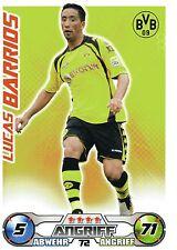 72 Lucas Barrios - Borussia Dortmund - TOPPS Match Attax 2009/2010