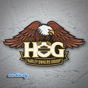 Large Eagle Gold Patch ~ Harley Davidson Owners Group HOG H.O.G.