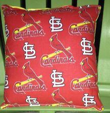 Cardinals Pillow (Red) St Louis Cardinals Pillow MLB Handmade in USA