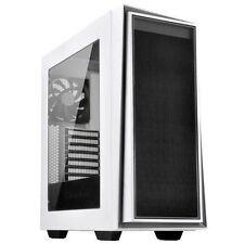 Silverstone SST-RL06WS-W (White with Silver Trim + Window) ATX/MATX Case