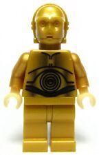 LEGO Star Wars C-3PO Minifigure Alternate 10144 C3PO darker torso