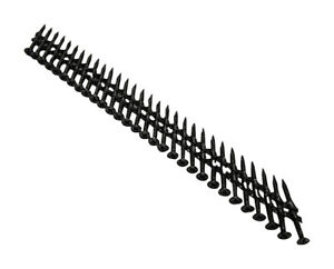 Tiger Claw F-6557-SSPS Black Coated Stainless Steel Scrail Fastener