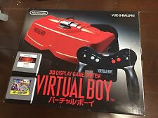 MINT NINTENDO VIRTUAL BOY SYSTEM CONSOLE BOXED JAPAN