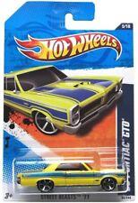2011 Hot Wheels #85 Strada Animali '65 Pontiac GTO Giallo
