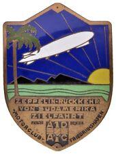 HMM - Luftfahrt Einseitige teilemallierte Bronzeplakette 1930 ADAC - 170316010