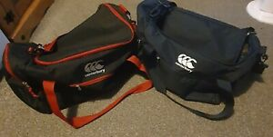 Canterbury x2 Bags Small and Large Sports Training Holdall Black/Red Used Once