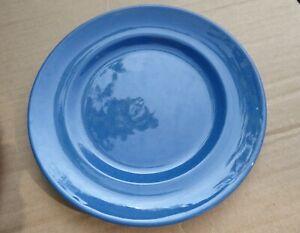 Moorcroft Pottery, 2 Small Powder Blue Side Plates