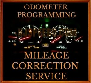 INSTRUMENT CLUSTER MILEAGE CORRECTION, ODOMETER PROGRAMMING, FOR FORD VEHICLES
