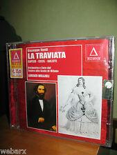 G. VERDI LA TRAVIATA 2 CD NUOVO SIGILLATO CAPSIR CECIL GALEFFI MOLAJOLI 1928