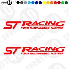 Ford ST Racing - Vinyl Decals / Sticker- Motorbike - Fiesta Focus 4775-0119