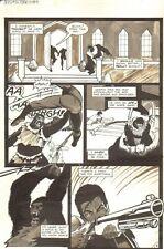 Planet of the Apes #16 p 8 - Ambushed - Malibu Comics - 1991 art by M.C. Wyman