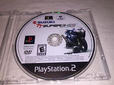 Suzuki TT SuperBikes (Sony PlayStation 2, 2005) Game in Plain Case Excellent!