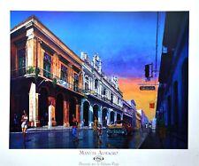 Manuel Almagro paseando por la habana coliderado póster son impresiones artísticas imagen 68x84cm