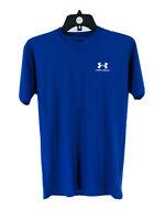 Under Armour Boy's Royal Blue Short Sleeve Activewear T-Shirt Size XL