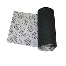 SKATEBOARD LONGBOARD GRIPTAPE 10.5 x 48in Sheet of Black MINI LOGO Grip Tape