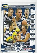 2014 Teamcoach Herald Sun Quiz (07) Joel SELWOOD (In how many of his 3....)