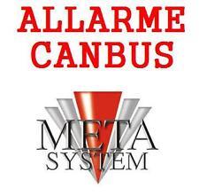 NUOVO ALLARME CANBUS ANTIFURTO AUTO METASYSTEM CAN BUS