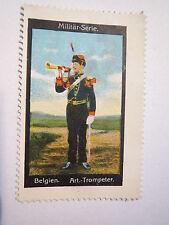 Belgien - Artillerie-Trompeter - Militär-Serie / Reklamemarke