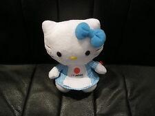 TY BEANIE BABIES - HELLO KITTY 40908 15cm PLUSH SOFT TOY - I HEART JAPAN -  BNWT