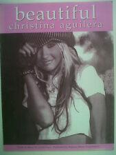 FICHE CHANSON belle Christina Aguilera 2001