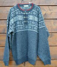 Norway Wool Sweater Size L