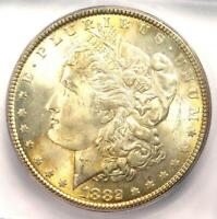 1882-P (1882) Morgan Silver Dollar $1 - ICG MS65 - Rare in MS65 - $425 Value!