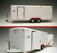 21-Ft Tandem Two-Axle Tag-Along Trailer -- Plastic Model Trailer  0661912990515