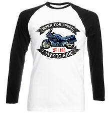 HONDA ST 1100-Nuova T-shirt Cotone-Tutte le taglie in magazzino