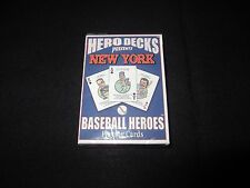 NEW YORK METS Baseball Collectible Cards Fans Hero Decks Playing Cards!  NIP