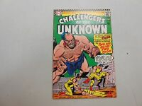 Challengers of the Unknown #52! (1966, DC)! VF7.5-! high grade silver age dc!