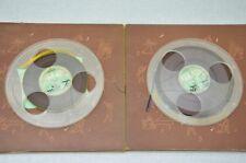 Absolut Exklusiv: 2 Stück 22cm. Philips Plastik Tonbandspule mit Karton Schuber!