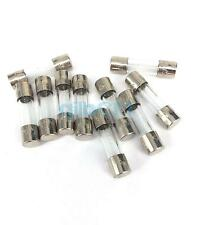 10 pieces 250V 2.5A Slow Blow 5x20mm Glass Tube Fuses  Electronic Components