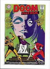 """DOOM PATROL #118  [1968 FN+]  """"VIDEX MONARCH OF LIGHT"""""""