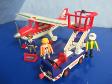 Avión Service autosport avión V set 4098 a 3186 4311 9734 Playmobil