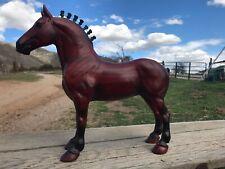 Peter Stone woodgrain Draft horse
