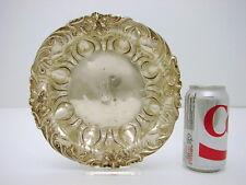 Sterling Silver Art Nouveau Bowl Oriental honeysuckle flower c1910 Meriden