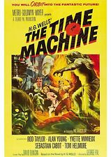 Rod Taylor The Time Machine A4 Movie Poster